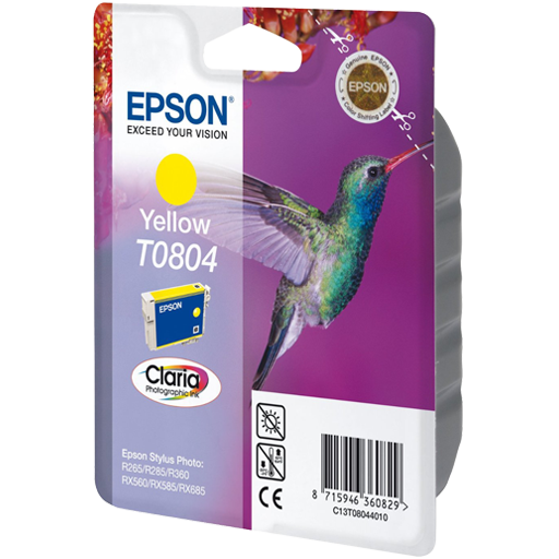 کارتریج Epson T0804 Yellow
