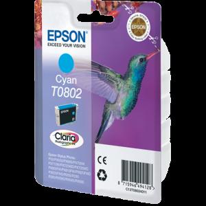 کارتریج Epson T0802 Cyan